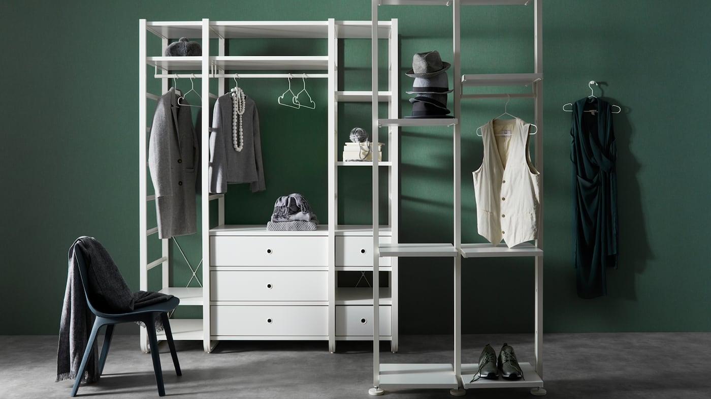 Open Closet Systems Ikea