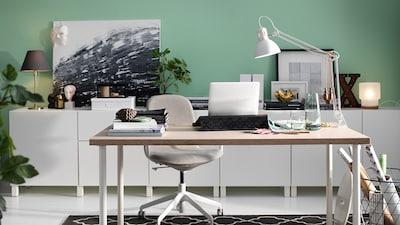 Bureau De Teletravail Amenagement Bureau Ikea