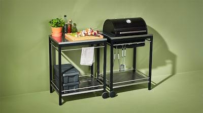 Grillar & grillbord