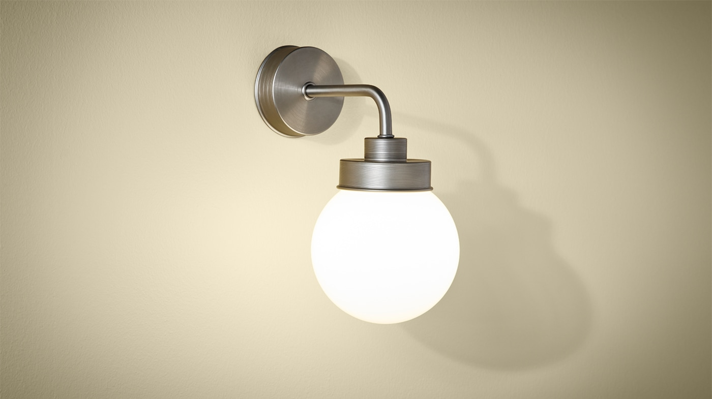 Bathroom Lighting & Light Fixtures - IKEA