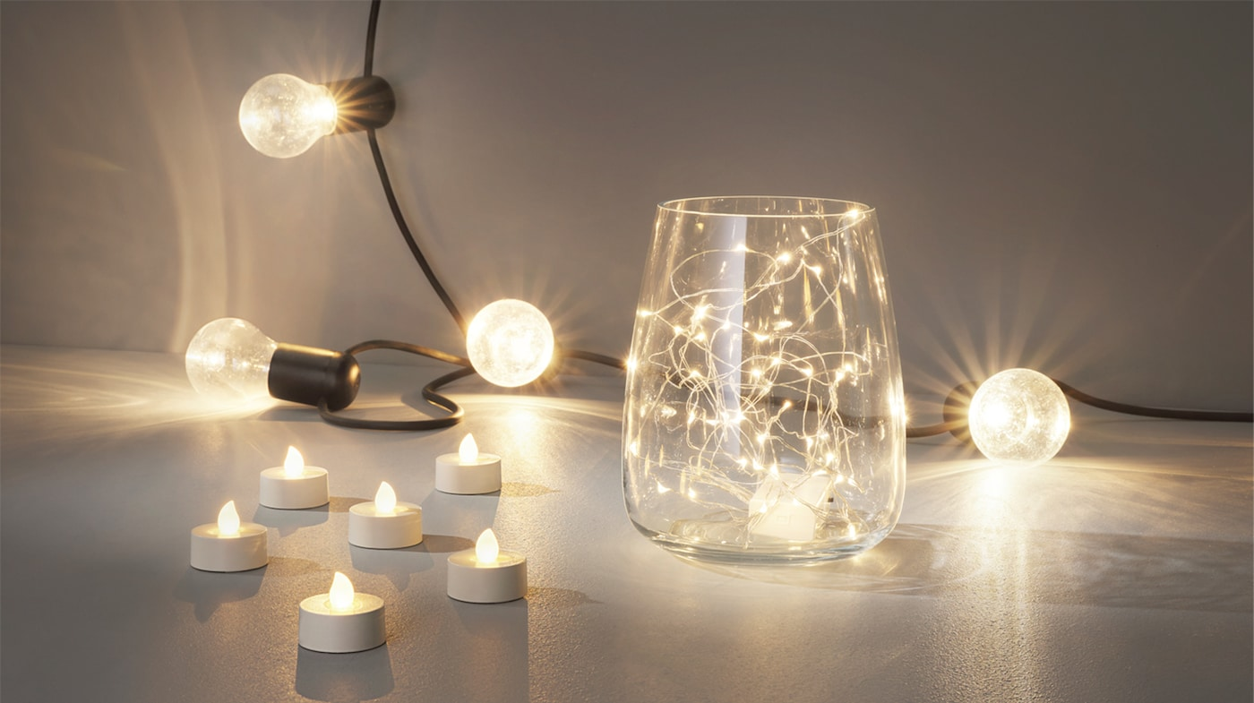 Decorative Lighting Shades Led Candles Ikea