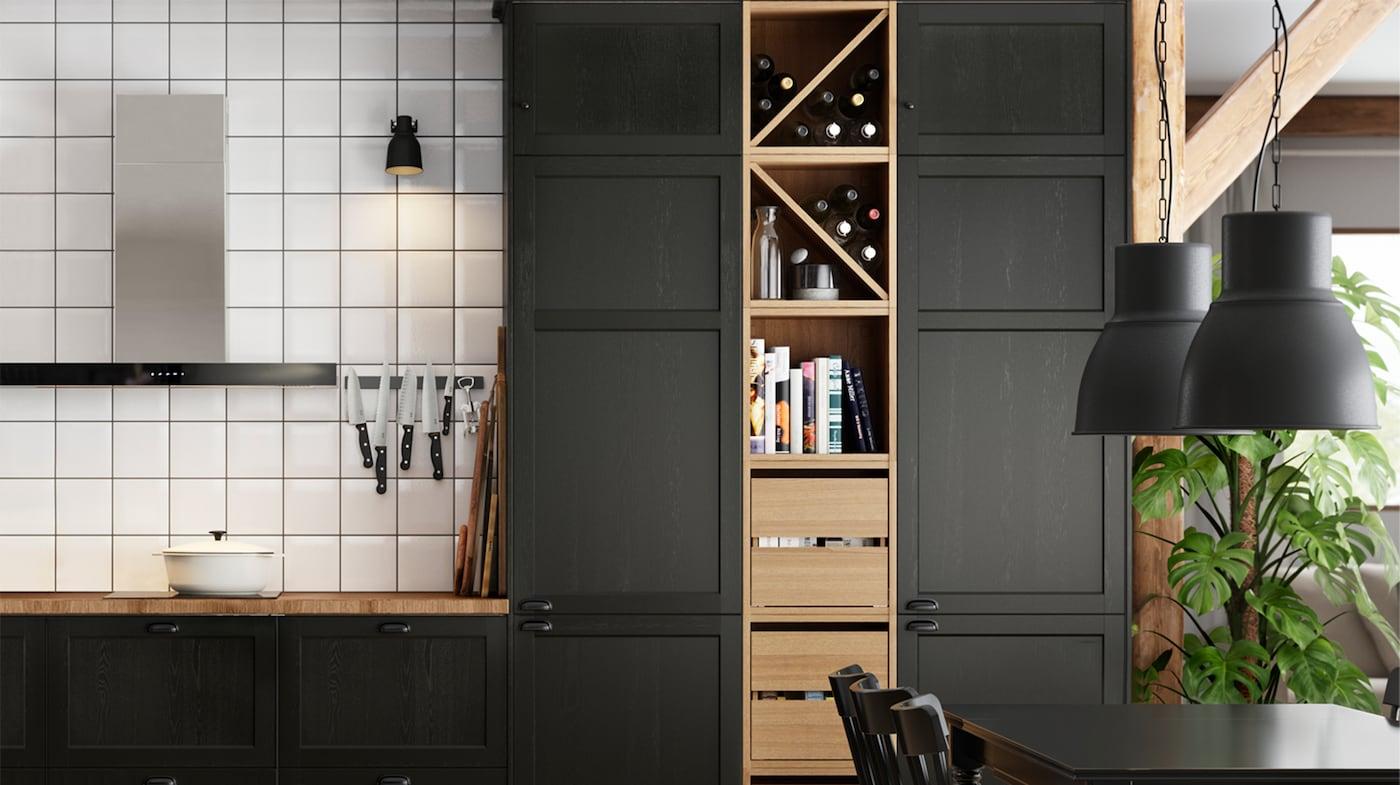cama con armarios de cocina ikea
