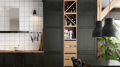 High cabinets