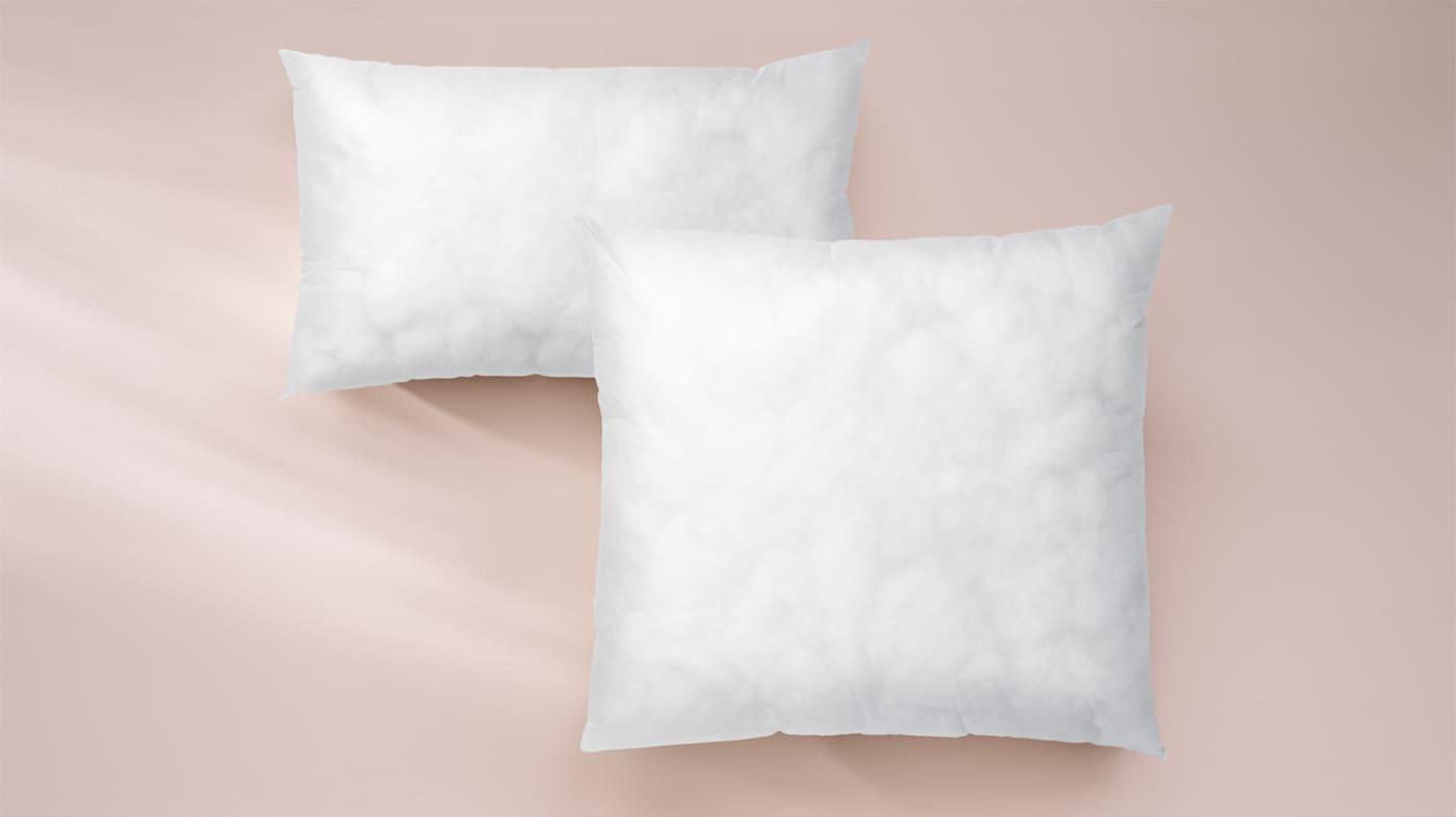 IKEA Intérieur X 2 Polyester rempli Intérieur Coussin Pads 65 x 65 cm-Pour sanela