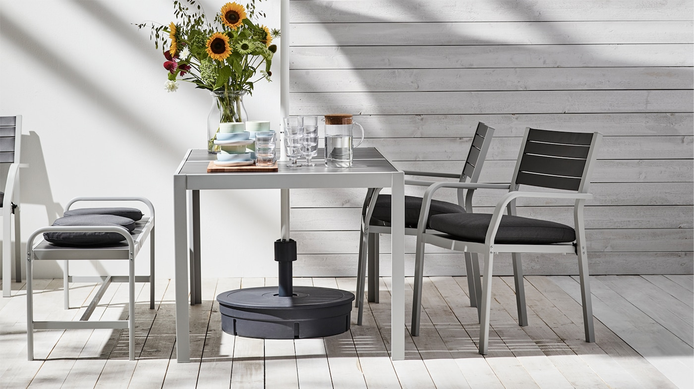 Garden Table & Chairs - Outdoor Table & Chairs - Alfresco - IKEA