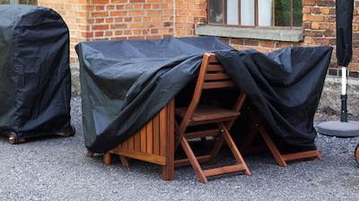 屋外家具の保護