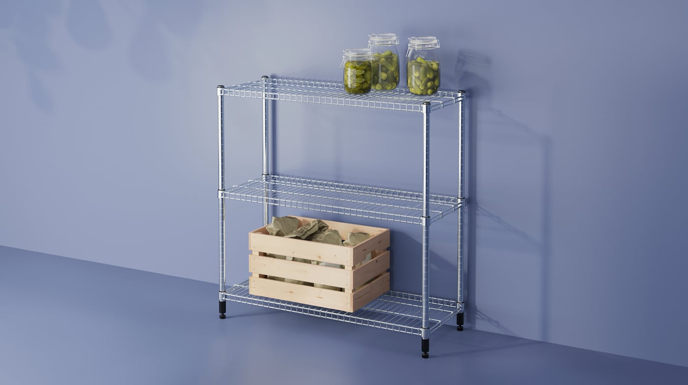Kitchen Pantry Shelves Storage Solutions Ikea