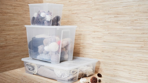 Secondary storage boxes