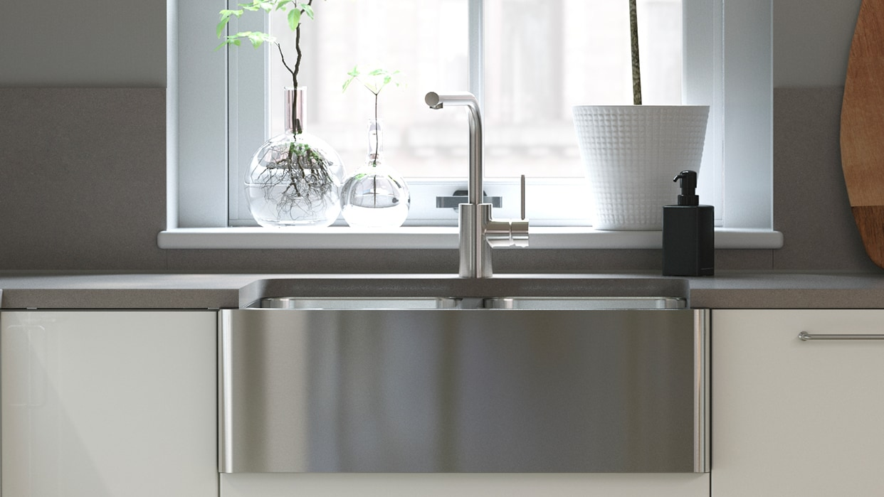 Kitchen Sinks Undermount Stainless Steel Single Double Ikea