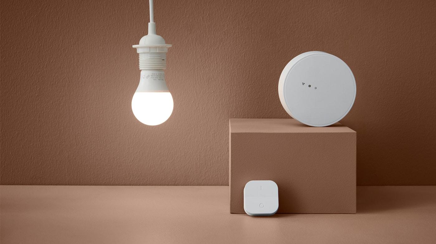 Styr ljuset i ditt hem med smart belysning IKEA