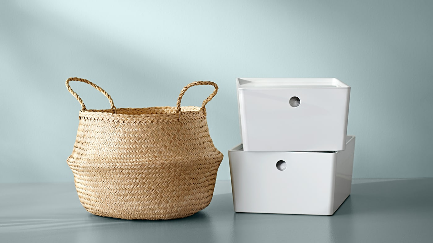 Storage Boxes Baskets Ikea