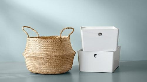 Úložné škatule a koše