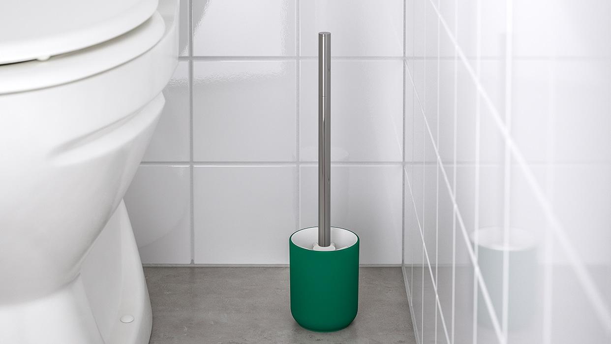 Ikea FREDEN Toilet seat, black brown