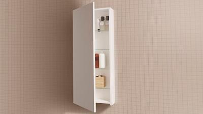 Koupelnové nástěnné skříňky