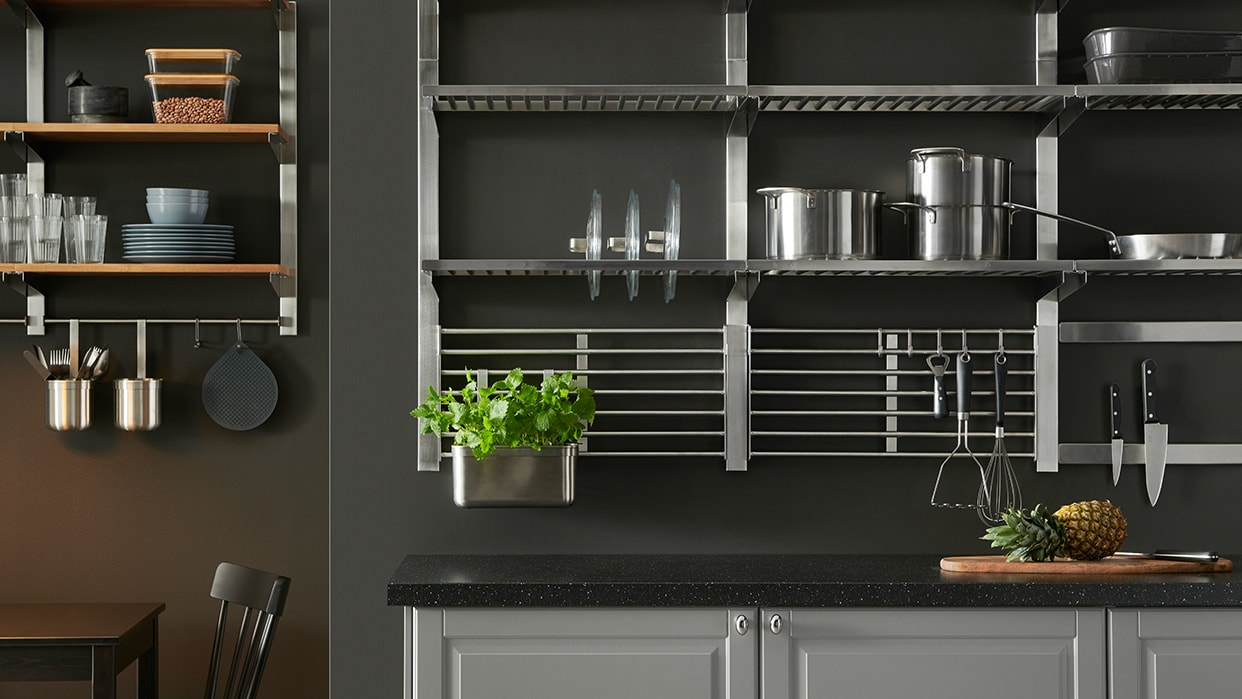 Kitchen Wall Organizers - IKEA