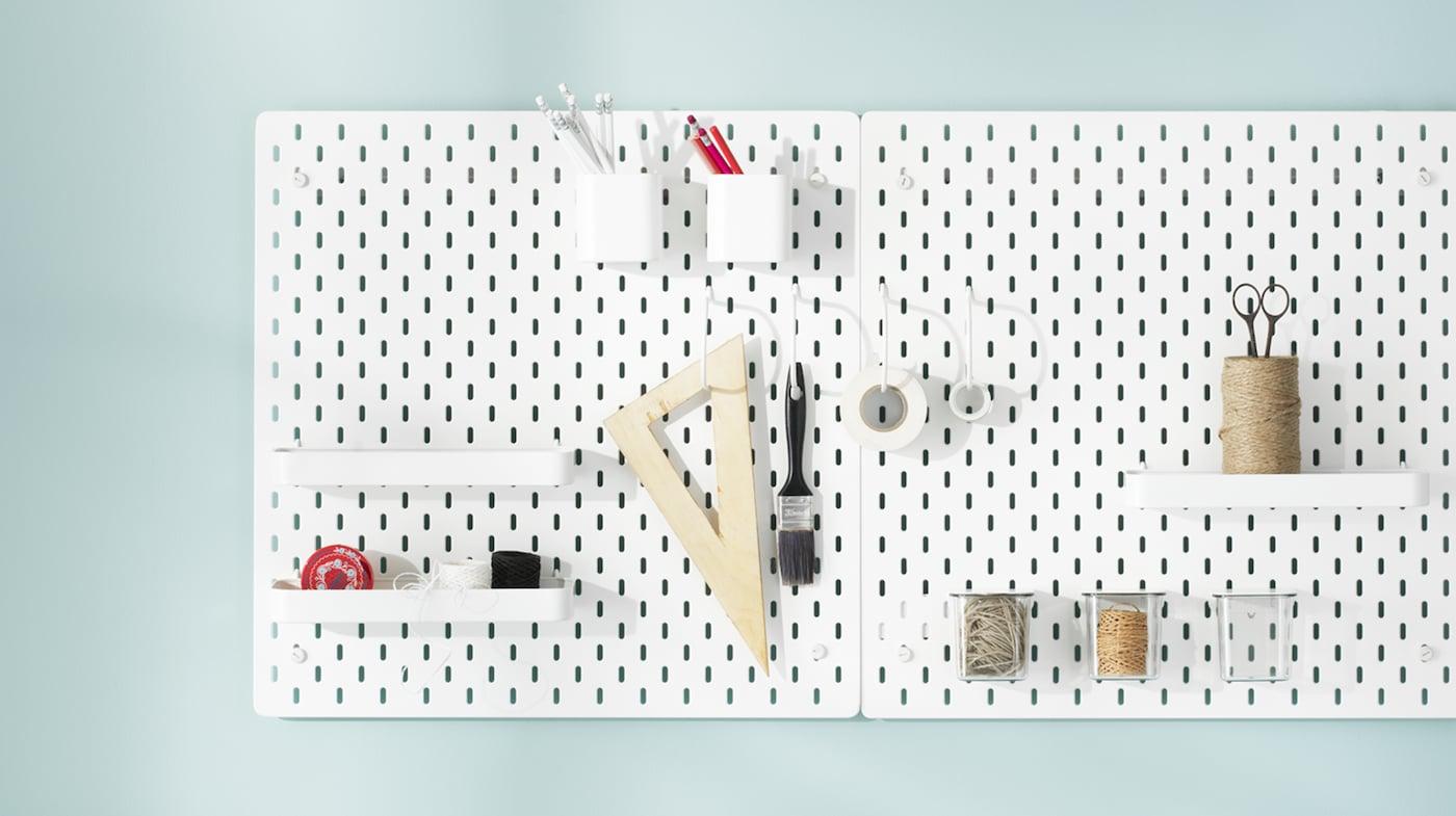 Ordnung an der Wand: Regale, Boards & Haken IKEA Österreich