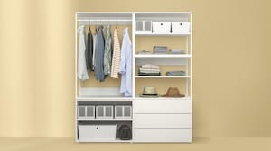 Walk-in wardrobe closets