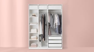 Открытые гардеробы