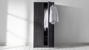 Small wardrobe closets
