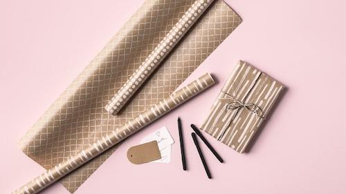 Papir za umotavanje, darovne vrećice i dodaci
