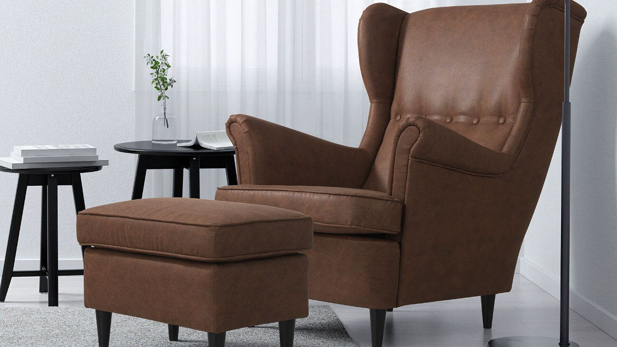 leather club chairs ikea