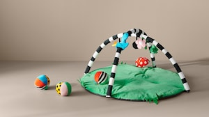 Детские коврики и мобили