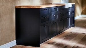 Base cabinets, frame height 80 cm