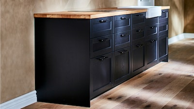 Base cabinets, frame height 31½