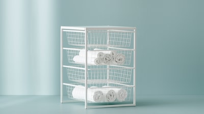 Basket drawer units