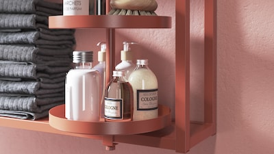 ENHET bathroom shelving