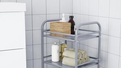 Rulleborde til badeværelset