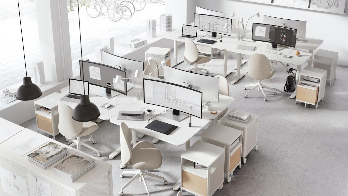 Office Furniture - Office Desks - Office Tables - IKEA Ireland