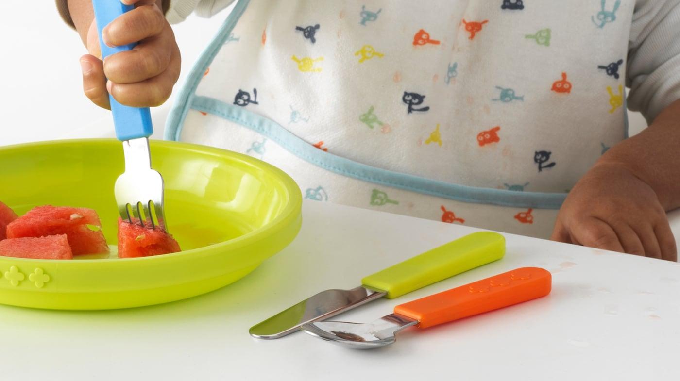 Детские столовые приборы