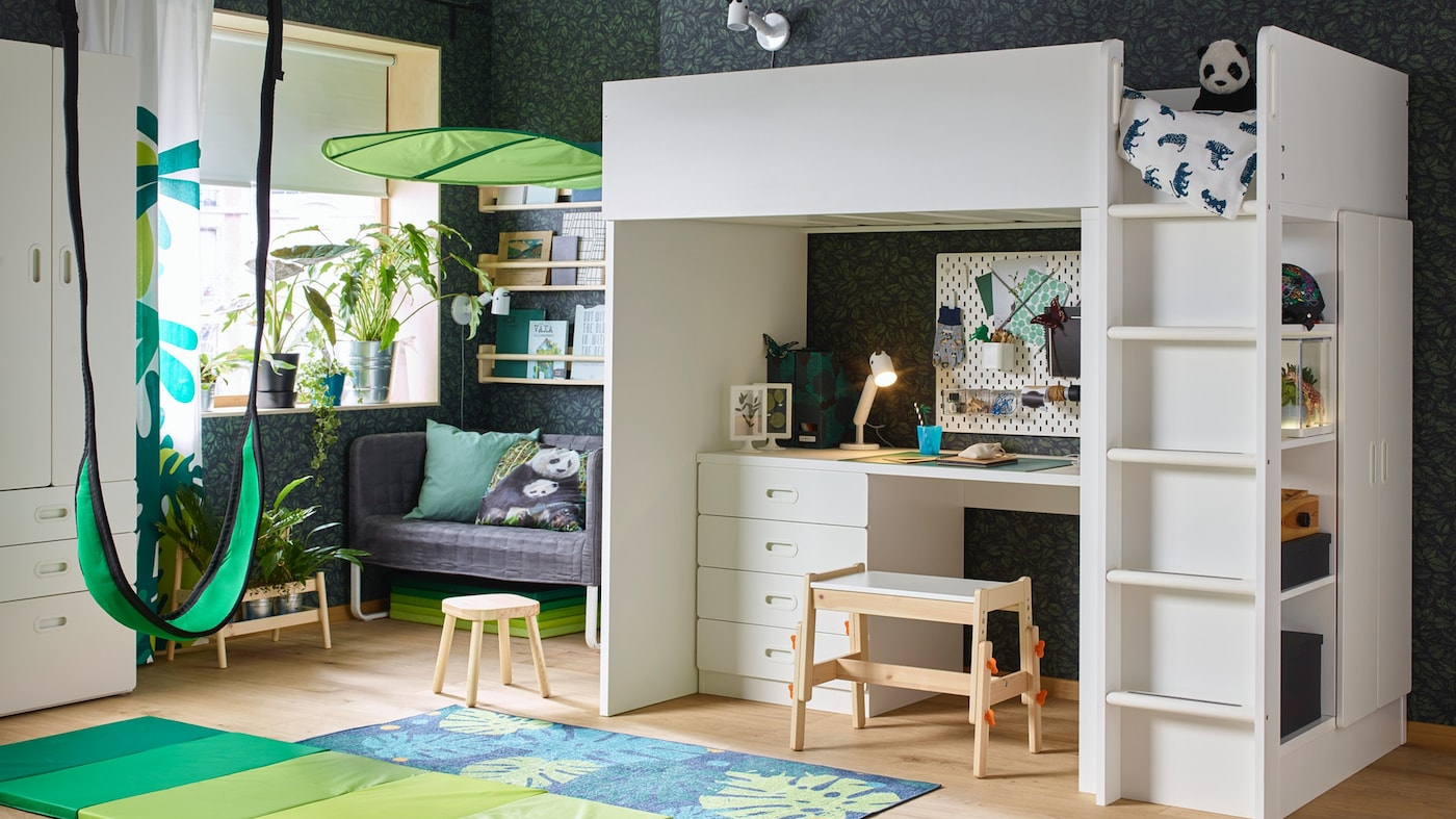 Picture of: Loft Beds Ikea