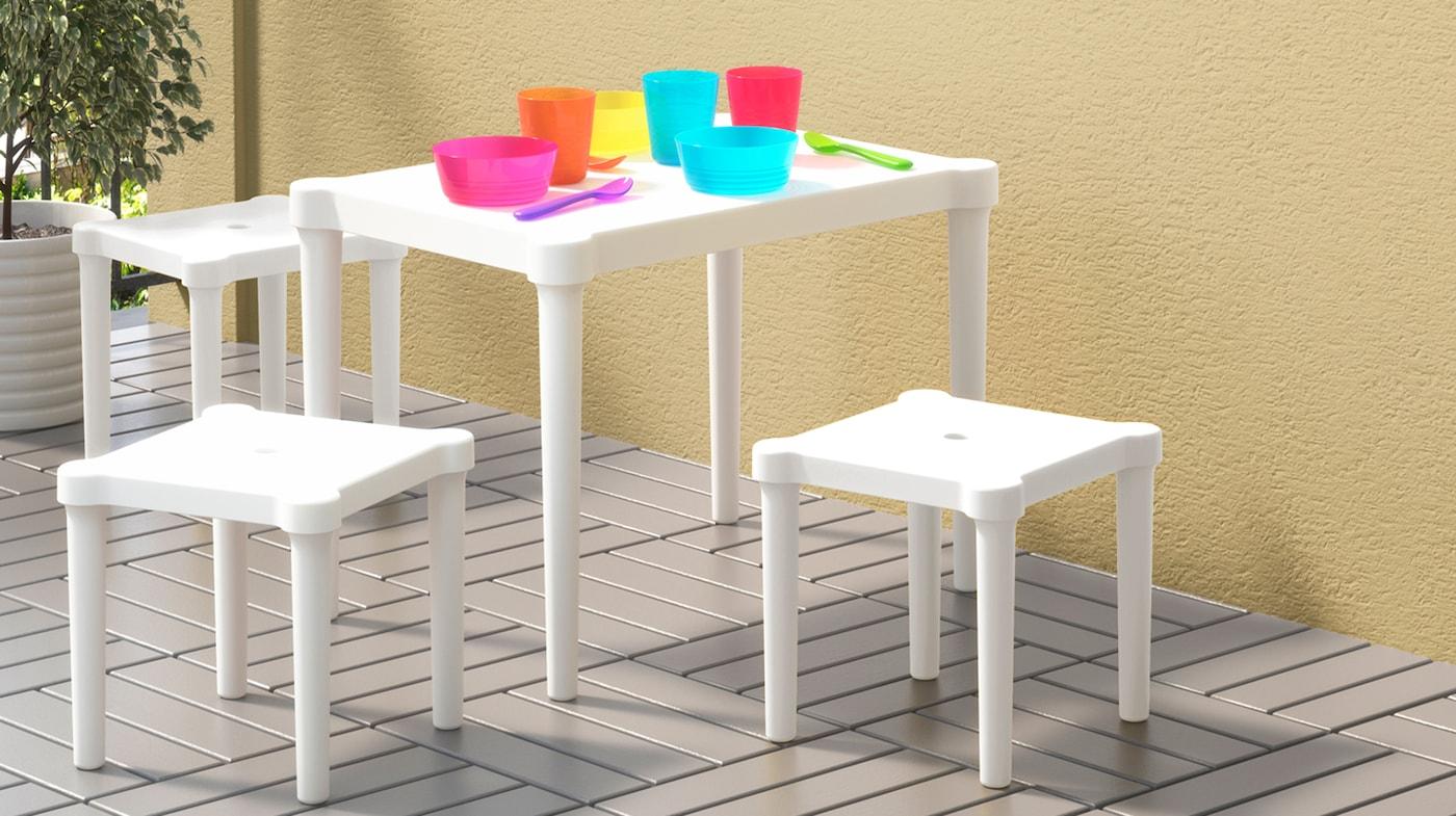 Mobilier jardin enfant IKEA
