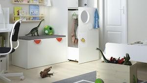 Kinderzimmer-Aufbewahrung