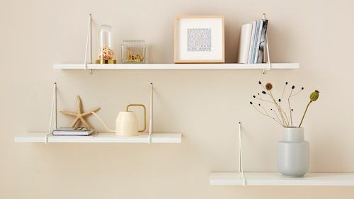 Complete wall shelves