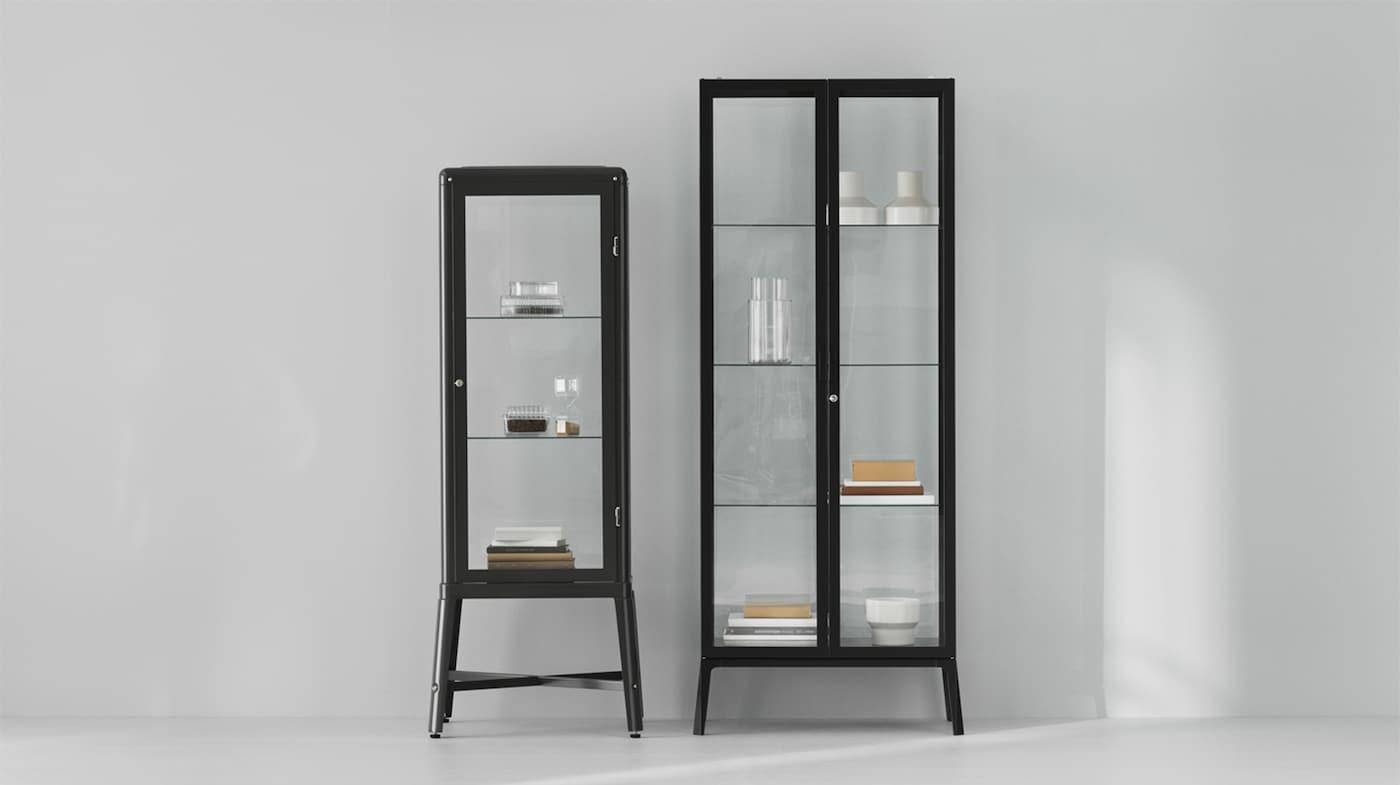 Luttich salon meubles de rangement vitrine cabinet armoire table de café