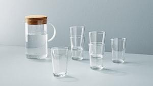 ガラス食器&水差し