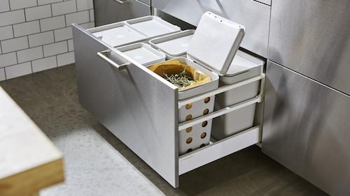 キッチンキャビネット用ゴミ箱