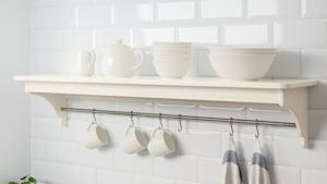 Кухонные навесные полки