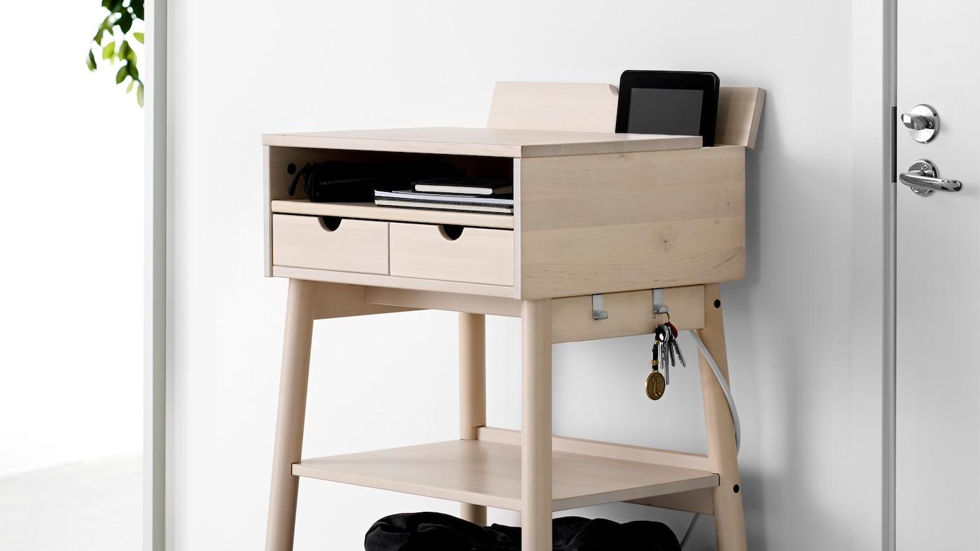 Skrivbord för kontoret och hemarbetsplatsen IKEA