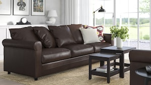 Leather & coated fabric sofas