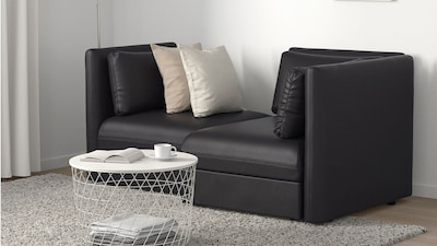 Modular coated fabric sofas