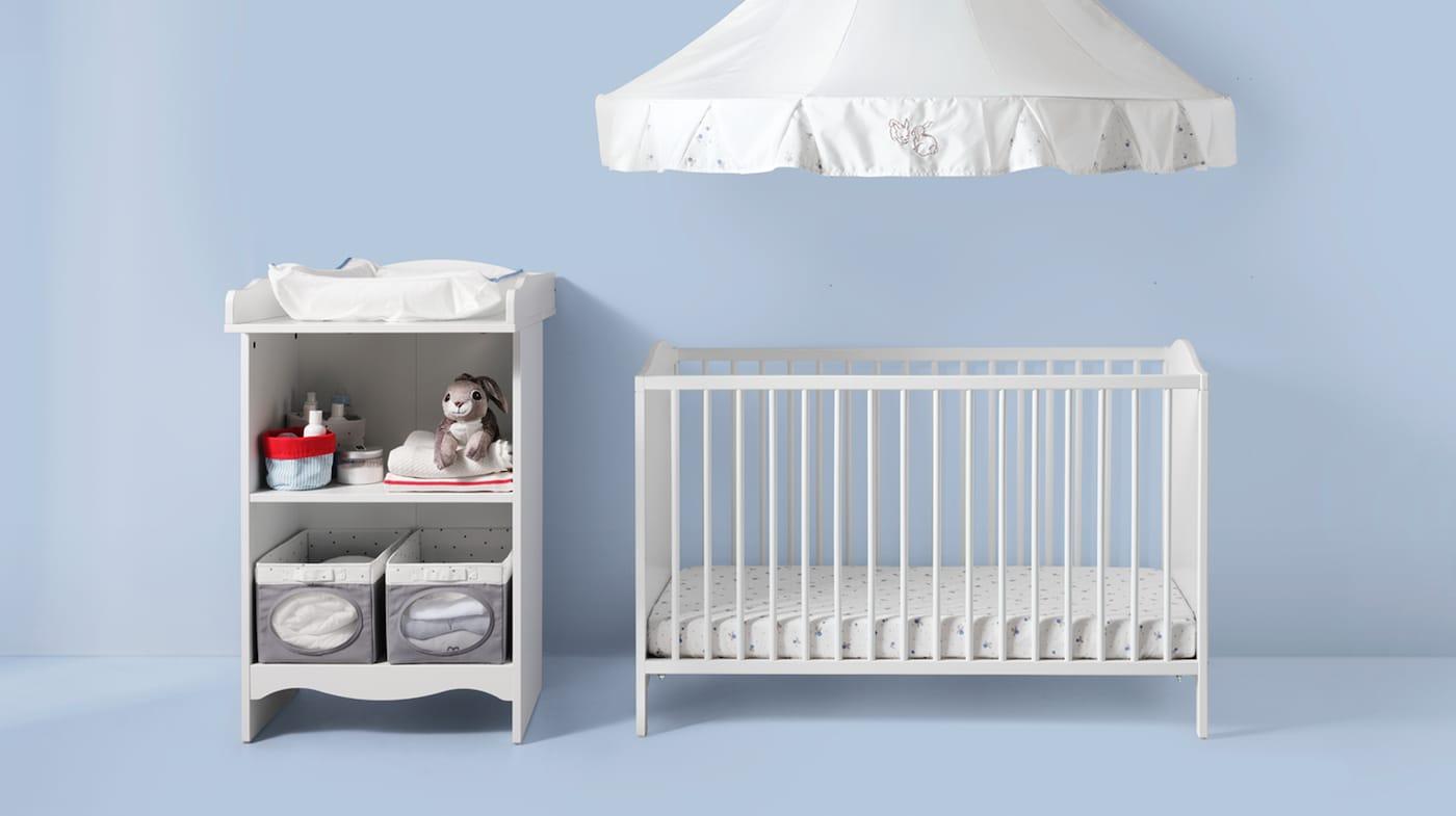 TROFAST Aufbewahrungskombi weißtürkis IKEA Österreich