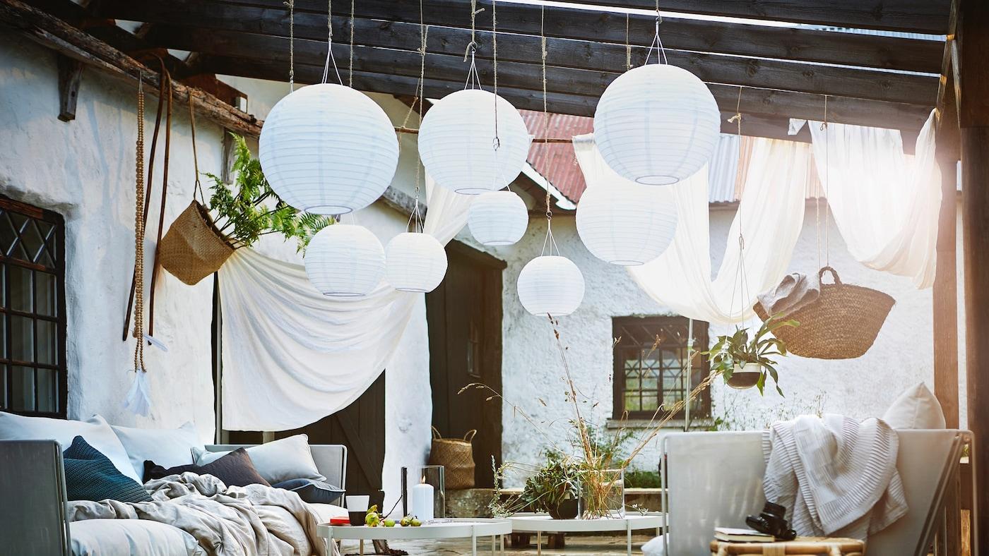 Solcellslampor som lyser upp ditt hem IKEA