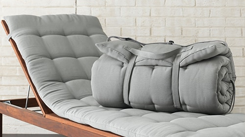 Cuscini per sedie e lettini da esterno