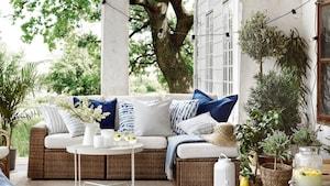 Садовые диваны, комбинации