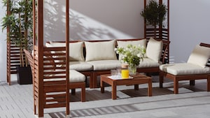 Outdoor sofa sections
