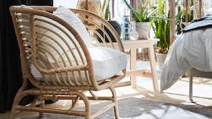 Rieten stoelen & rotan fauteuils
